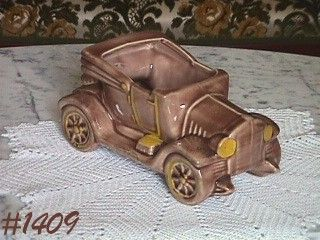 McCOY POTTERY -- CONVERTIBLE AUTO PLANTER