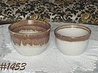 McCOY POTTERY -- GRAYSTONE MIXING BOWLS (2)
