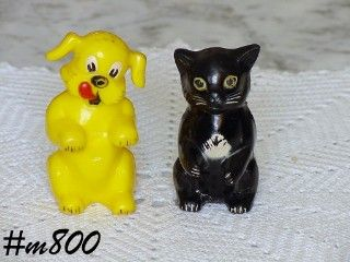 F & F -- FIDO AND FIFI SALT AND PEPPER SET