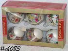 CHRISTMAS ORNAMENTS -- MOUSE ORNAMENTS (6 IN BOX!)