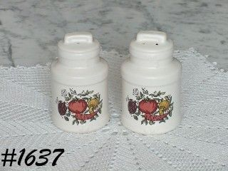 McCOY POTTERY -- SPICE DELIGHT SALT AND PEPPER SET