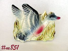 SHAWNEE POTTERY -- FLYING MALLARD PLANTER