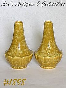 McCOY POTTERY -- MURANO LINE VINEGAR AND OIL CRUETS