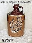 """McCOY POTTERY -- BROWN """"COOKIE JUG"""" COOKIE JAR"""