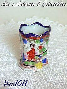 GEISHA GIRL TOOTHPICK HOLDER (BLUE)