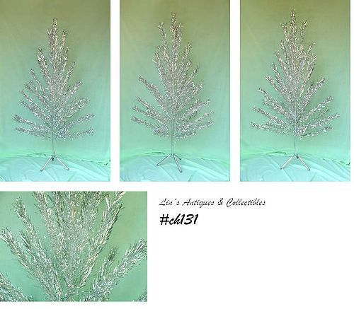 6 FT. ALUMINUM CHRISTMAS TREE