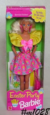 EASTER PARTY BARBIE -- MINT IN BOX