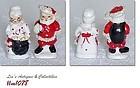 SPAGHETTI MR. AND MRS. CLAUS SHAKERS BY NAPCO