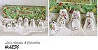 12 VINTAGE CHRISTMAS BELL ORNAMENTS IN ORIGINAL BOX!