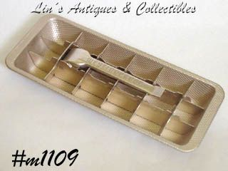 ALUMINUM WARE -- ICE TRAY (BRONZE COLOR)