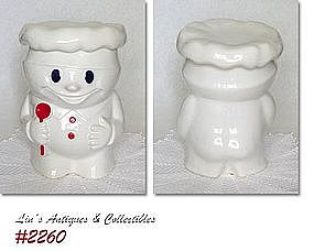 McCOY POTTERY -- BOBBY BAKER COOKIE JAR