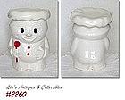 McCOY POTTERY -- BOBBY BAKER COOKIE JAR