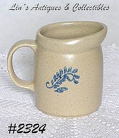 McCOY POTTERY -- BLUEFIELD CREAMER