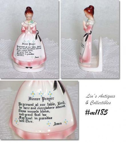 MOTHER IN THE KITCHEN (PRAYER LADY) NAPKIN  HOLDER