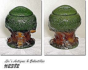 McCOY POTTERY -- KEEBLER COOKIE HOUSE COOKIE JAR