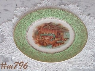 SALEM CHINA COMPANY -- DECORATIVE PLATE