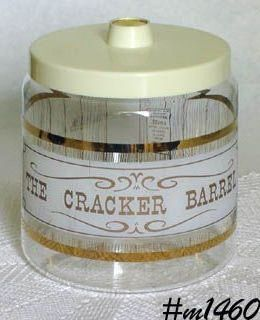 PYREX VINTAGE CRACKER BARREL / CRACKER JAR