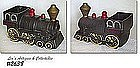 McCOY POTTERY -- COOKIE TRAIN ENGINE (BOTTOM ONLY)
