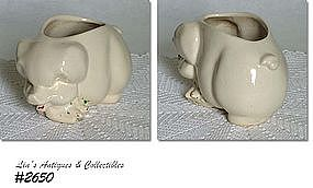 McCOY POTTERY -- PIG PLANTER