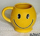 McCOY POTTERY -- SMILEY (HAPPY) FACE MUG