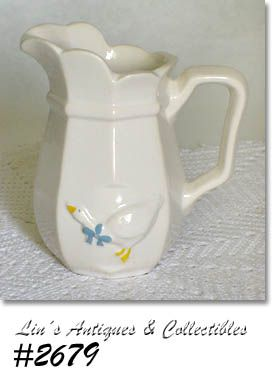 McCOY POTTERY -- COUNTRY ACCENTS CREAMER