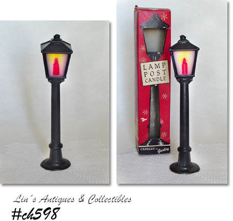 GURLEY LAMP POST CANDLE IN ORIGINAL BOX