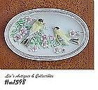 LEFTON -- BIRDS WALL PLAQUE ( IN ORIGINAL BOX)