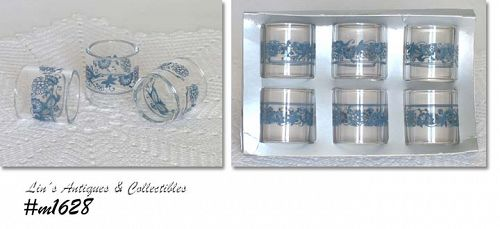 PYREX COMPATIBLE NAPKIN RINGS (6)