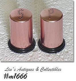 ALUMINUMWARE -- SALT AND PEPPER SHAKER SET