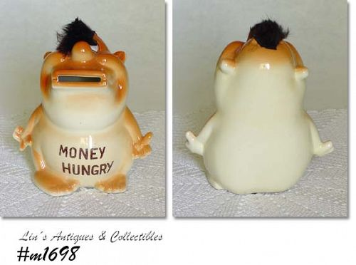 "KREISS LOOKALIKE -- ""MONEY HUNGRY"" BANK"