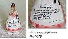 ENESCO -- PRAYER LADY NAPKIN HOLDER (PINK DRESS)