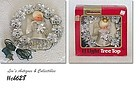 VINTAGE ANGEL 11 LIGHT TREE TOPPER WITH ORIGINAL BOX