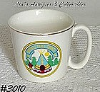 McCOY POTTERY -- BOY SCOUTS OF AMERICA MUG