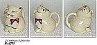 SHAWNEE POTTERY -- PUSS 'N BOOTS CREAMER