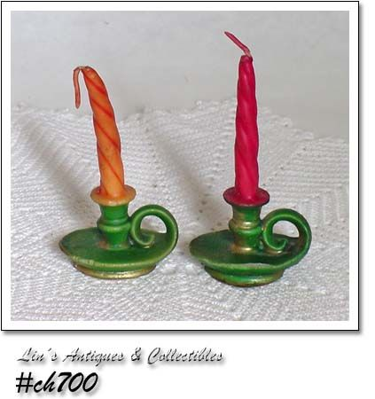 GURLEY CANDLES -- 2 CHAMBER STYLE CANDLES