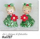 HOLT HOWARD -- POINSETTIA GIRL SHAKER SET