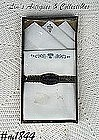 "MEN'S HANDKERCHIEFS -- MONOGRAM ""T"" IN BOX"