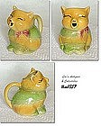SHAWNEE POTTERY -- PUSS N' BOOTS CREAMER (YELLOW)