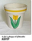 McCOY POTTERY -- FLOWERPOT COOKIE JAR BOTTOM