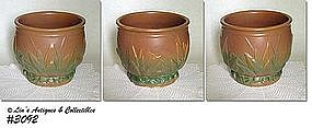 McCOY POTTERY -- LEAVES AND BERRIES JARDINIERE