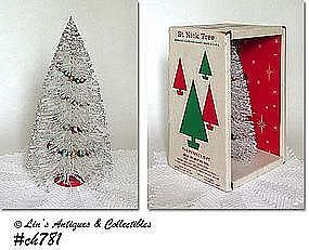 """ST. NICK"" TREE IN ORIGINAL BOX"