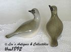 HOWARD PIERCE -- PIGEON PAIR FIGURINES