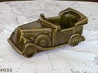 McCOY POTTERY --  FLORALINE AVOCADO GREEN AUTO PLANTER