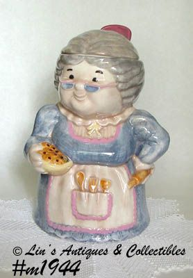 TREASURE CRAFT -- GRANNY COOKIE JAR