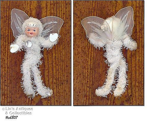 VINTAGE SNOW ANGEL ORNAMENT MADE BY HOLT HOWARD