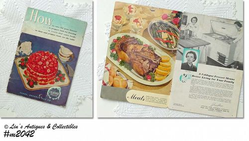 COLDSPOT FREEZER BOOK BY SEARS, ROEBUCK, AND CO.