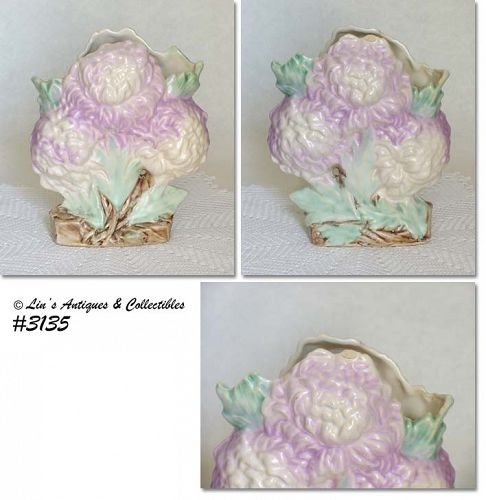 McCOY POTTERY -- CHRYSANTHEMUM VASE
