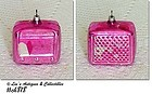 "PINK ""RADIO"" ORNAMENT"