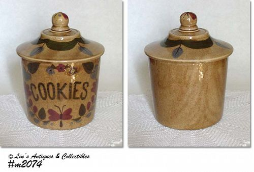 CLEMINSON POTTERY -- COOKIE JAR