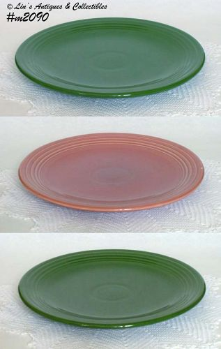 "FIESTA -- 13"" CHOP PLATES (50'S COLORS) CHOICE"